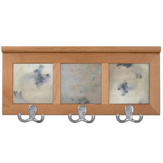 Stained Paper Tiles Coat Rack
