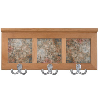 Stained Paper Tiles Coat Racks
