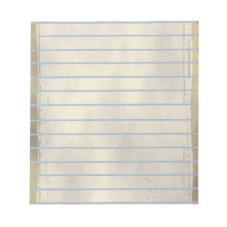 Stained Parchment Grunge Goth Notepad