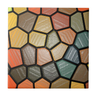 Stained Plastic Effect Tile