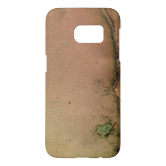 Stained Vintage Paper Samsung Galaxy S7 Case