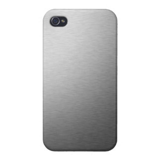 Stainless Steal iPhone 4/4S Cases