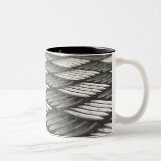 Stainless Steel Abstract Pattern Mug