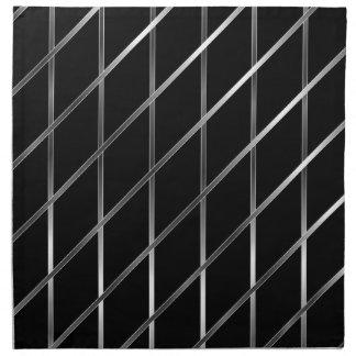 stainless steel background napkin