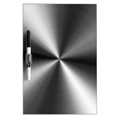 Stainless Steel Dry-erase Board at Zazzle