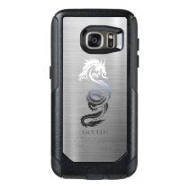 Stainless Steel Effect Dragon OtterBox Samsung Galaxy S7 Case