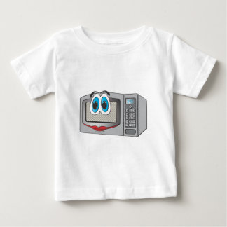 Stainless Steel Female Cartoon Microwave Baby T-Shirt