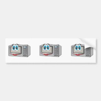 Stainless Steel Female Cartoon Microwave Bumper Sticker