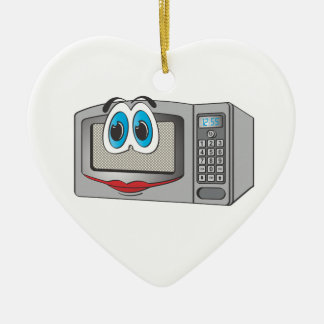 Stainless Steel Female Cartoon Microwave Double-Sided Heart Ceramic Christmas Ornament