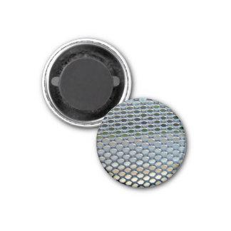 Stainless steel  grille fridge magnet