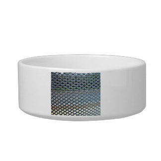 Stainless steel  grille cat food bowls