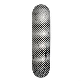Stainless Steel Grunge Mesh skateboard
