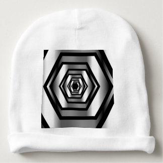Stainless steel hexagon baby beanie