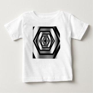 Stainless steel hexagon baby T-Shirt