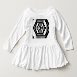 Stainless steel hexagon dress