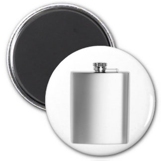 Stainless steel hip flask magnet