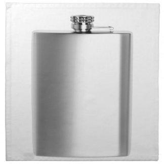 Stainless steel hip flask napkin