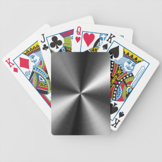 Stainless Steel Image Bicycle Playing Cards