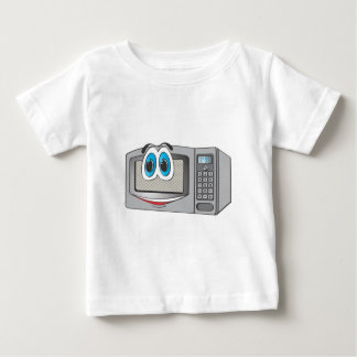 Stainless Steel Male Microwave Cartoon Baby T-Shirt