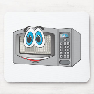 Stainless Steel Male Microwave Cartoon Mousepads
