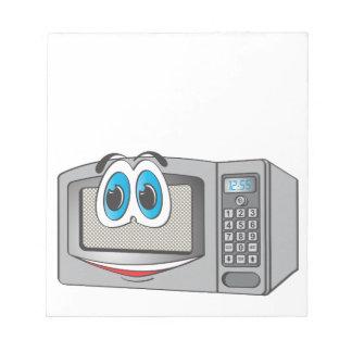Stainless Steel Male Microwave Cartoon Memo Pad