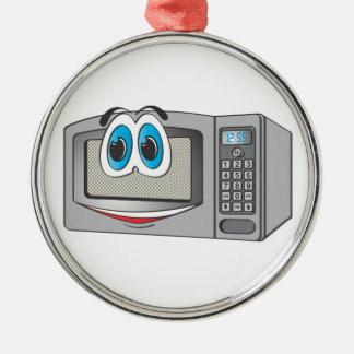 Stainless Steel Male Microwave Cartoon Ornament