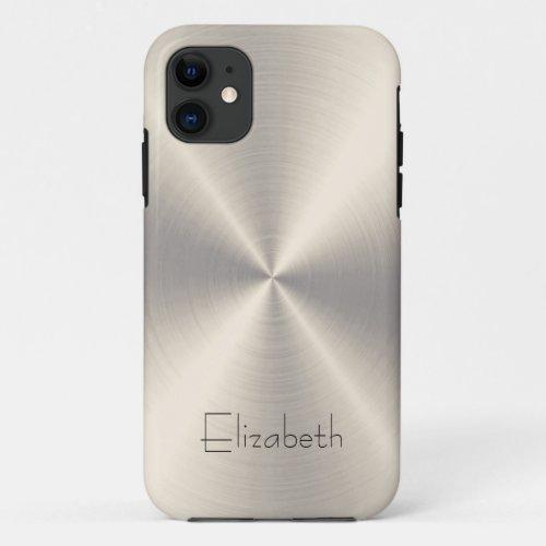 Stainless Steel Metal Phone Case