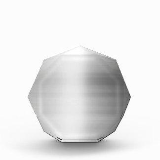 Stainless Steel Metal Look Acrylic Award