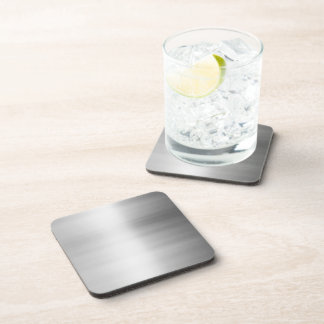 Stainless Steel Metal Look Beverage Coaster