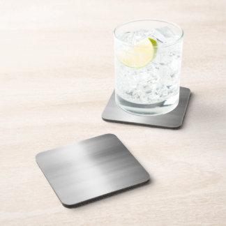 Stainless Steel Metal Look Beverage Coaster
