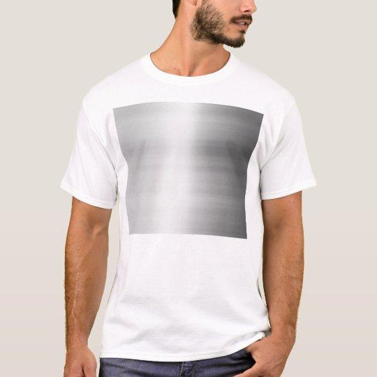 Stainless Steel Metal Look T-Shirt
