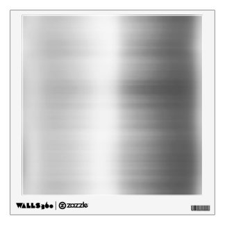 Stainless Steel Metal Look Wall Sticker