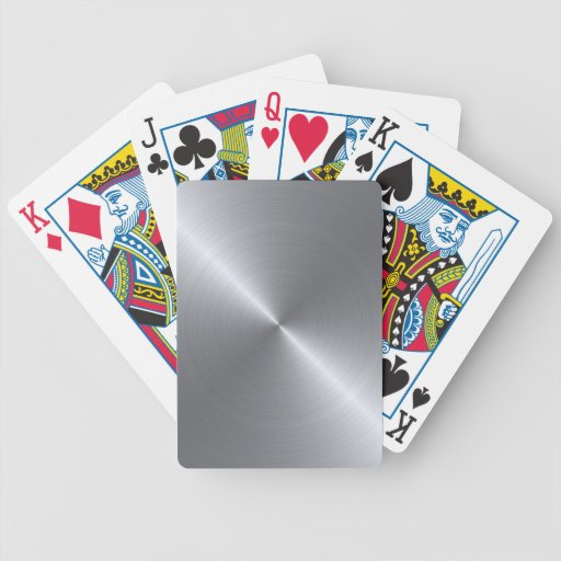 Stainless Steel Polished Metallic Deck Of Cards