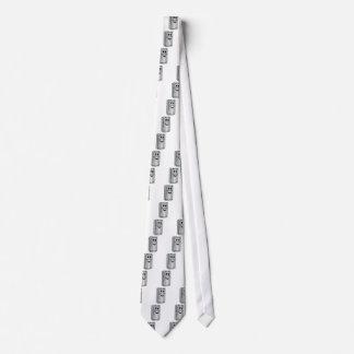 Stainless Steel Refrigerator Cartoon Neck Tie