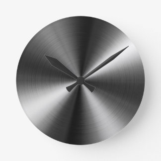 Stainless Steel Round Clocks