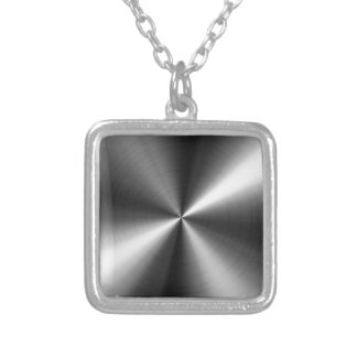 Stainless Steel Silver Plated Necklace