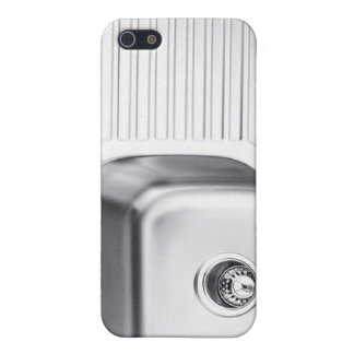 Stainless steel sink iPhone case iPhone 5/5S Cases