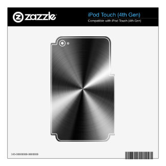 Stainless Steel Skin For iPod Touch 4G