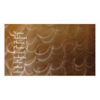 Stainless Steel Swirls Business Card