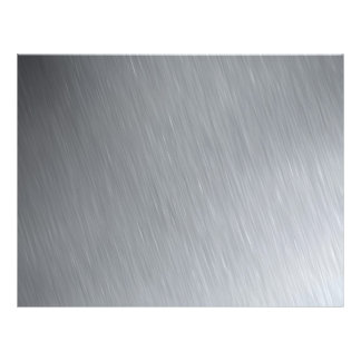 """Stainless steel texture with lighting highlights 8.5"""" x 11"""" flyer"""