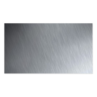 Stainless steel texture with lighting highlights business cards