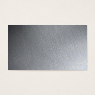 Stainless steel texture with lighting highlights business card