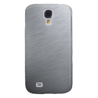 Stainless steel texture with lighting highlights samsung galaxy s4 cases
