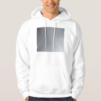 Stainless steel texture with lighting highlights hoodie
