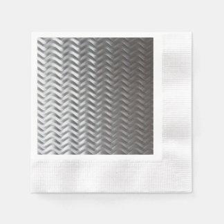 Stainless Steel Textured Industrial Metal Sheet Napkin