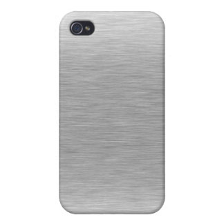 Stainless Steel Textured iPhone 4 Cover