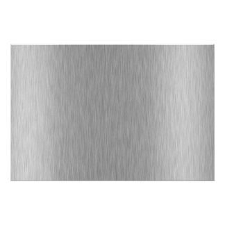 Stainless Steel Textured Poster