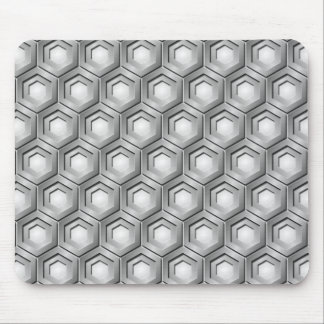 Stainless Steel Tiled Hex Mouse Pad