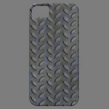 Stainless Steel Tread Plate Look iPhone 5 Case