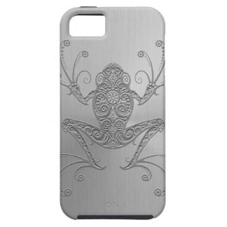 Stainless Steel Tree Frog iPhone 5 Cover